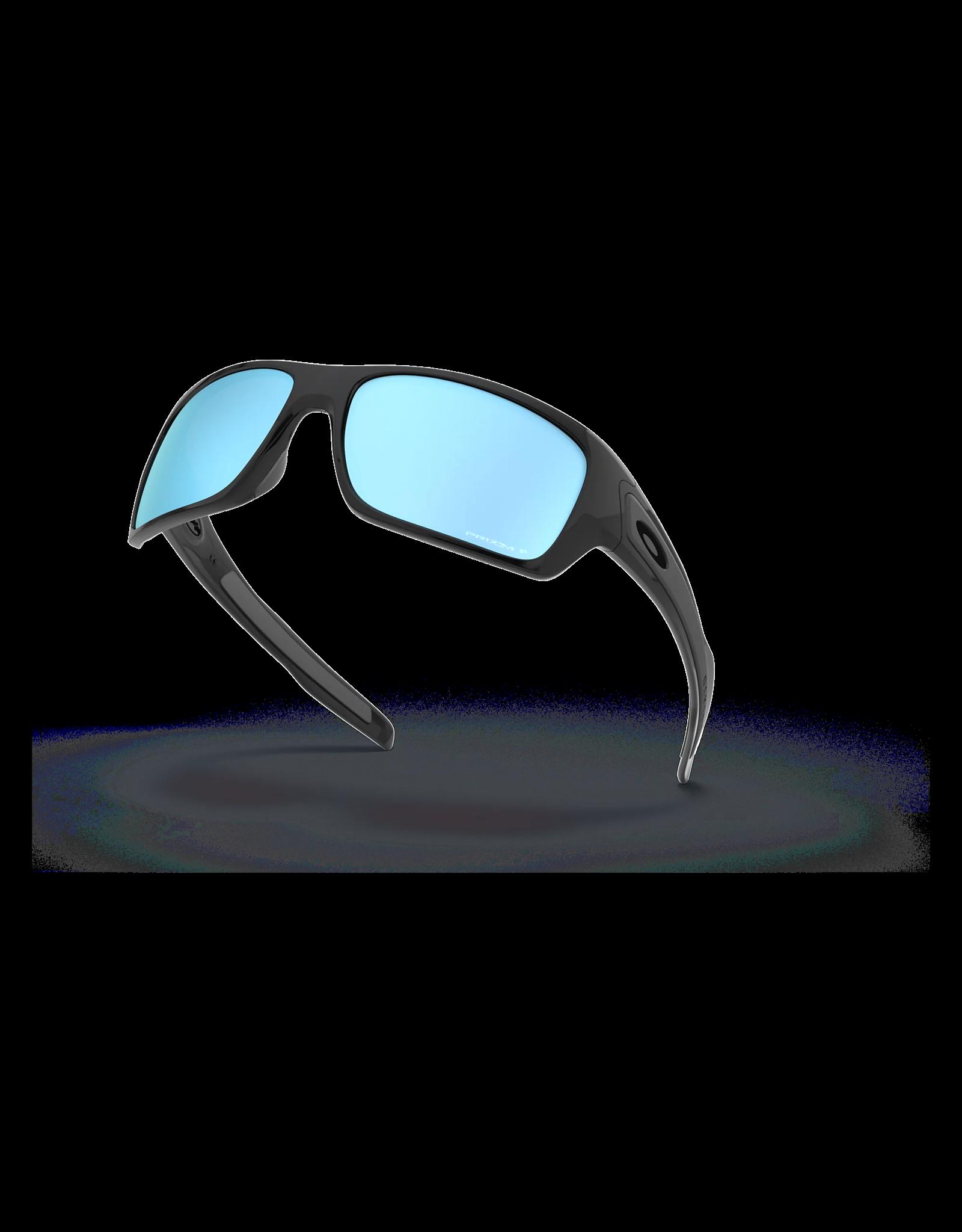 OAKLEY Oakley Turbine lunette polished black prizm deep water polarisée