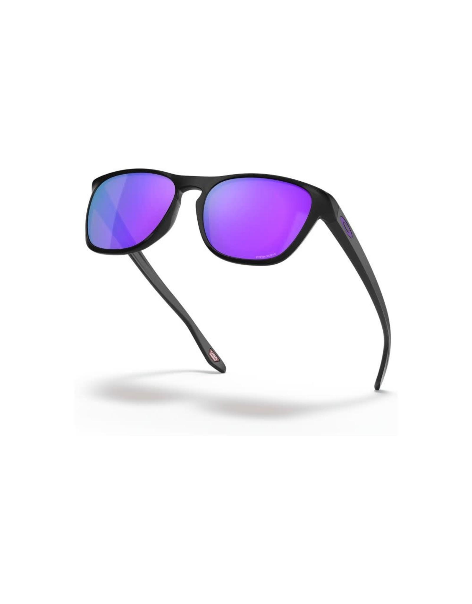OAKLEY Oakley Manorburn matte black prizm violet sunglasses