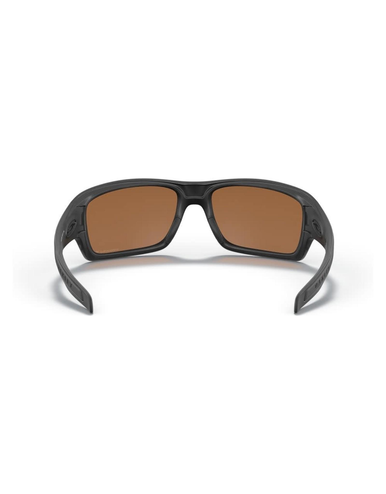 OAKLEY Oakley Turbine matte black prizm tungsten iridium polarized sunglasses