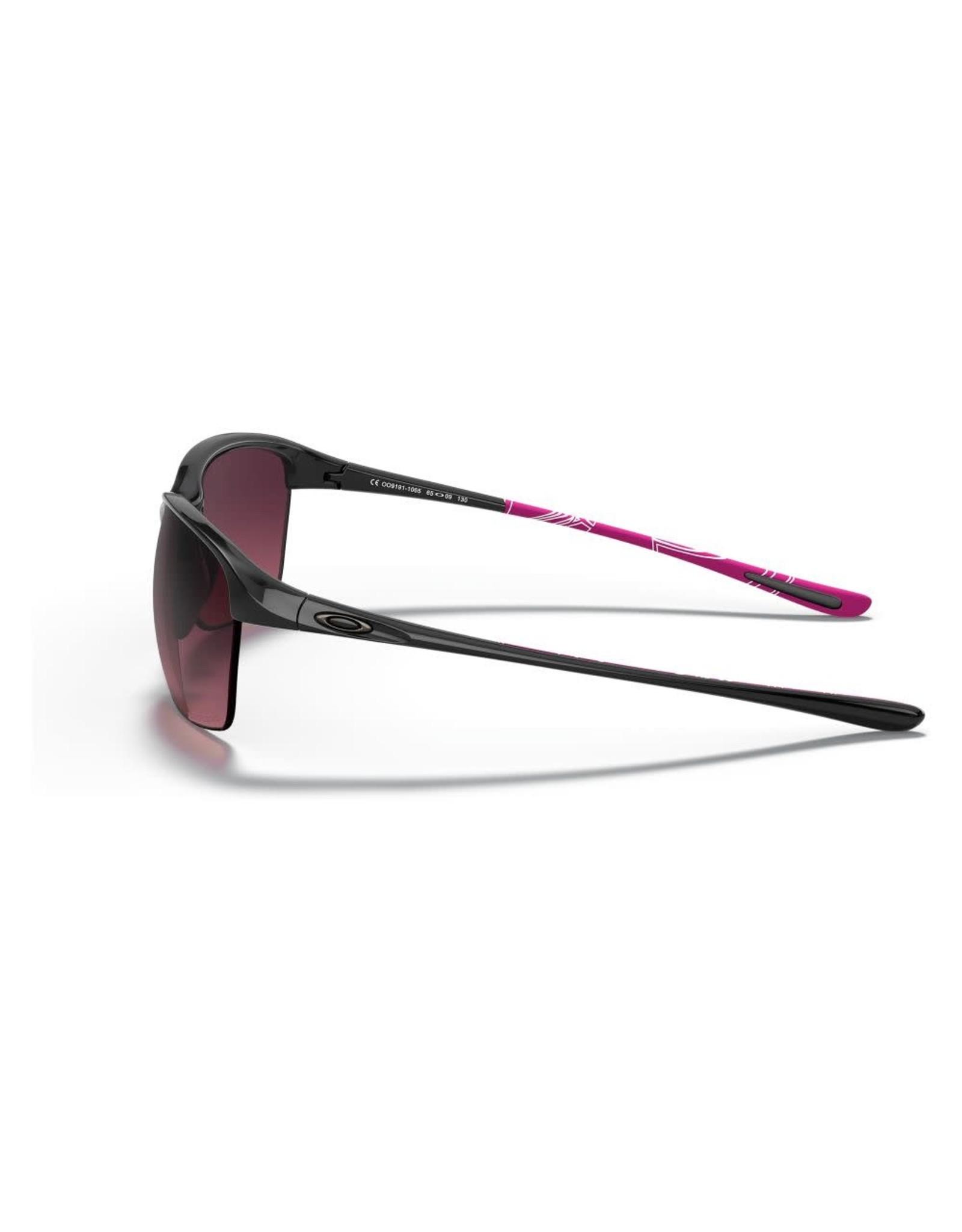 OAKLEY Oakley Unstoppable polished black-smokey rose gradient polarized sunglasses