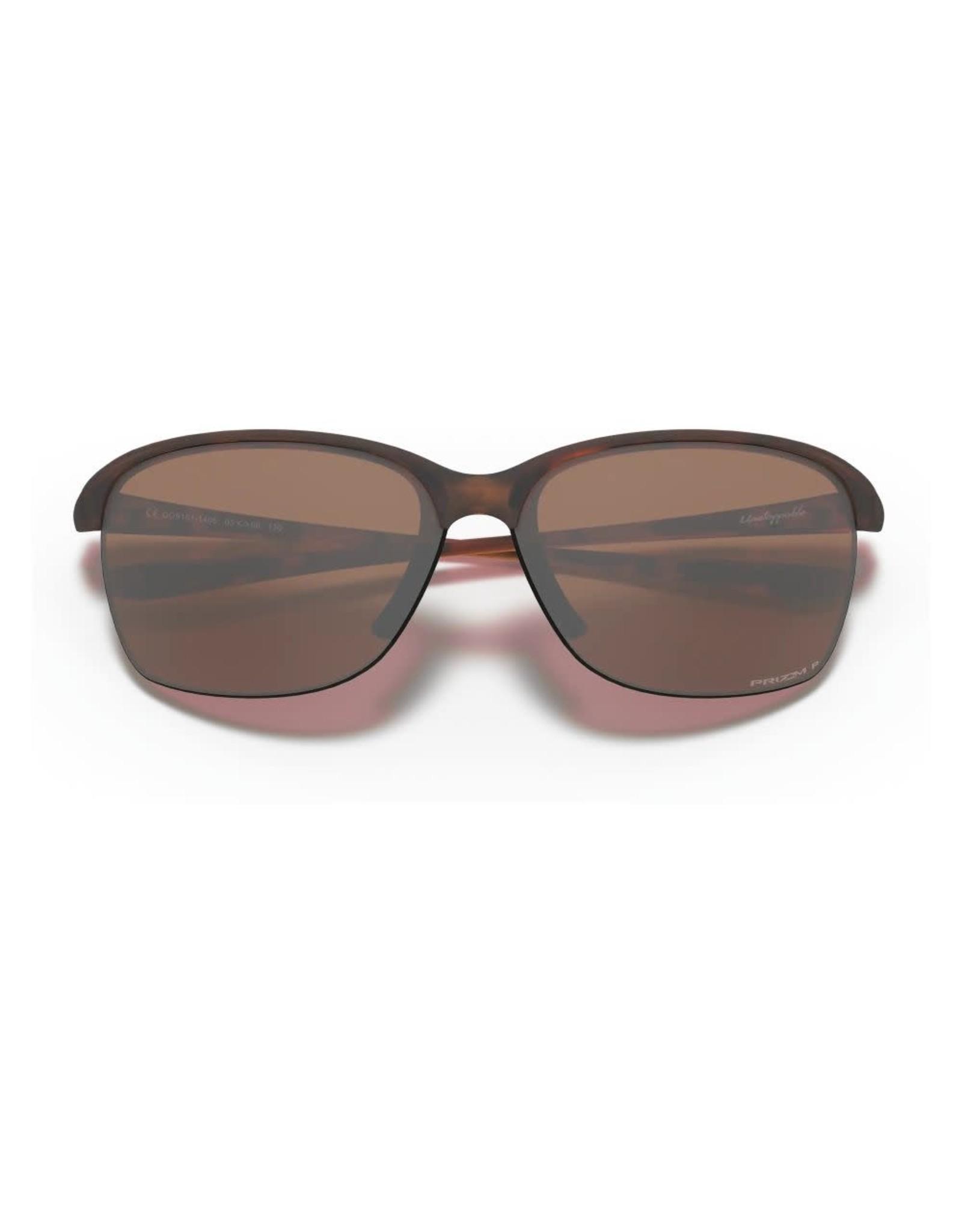 OAKLEY Oakley Unstoppable lunette matte tortoise prizm tungsten iridium polarisée