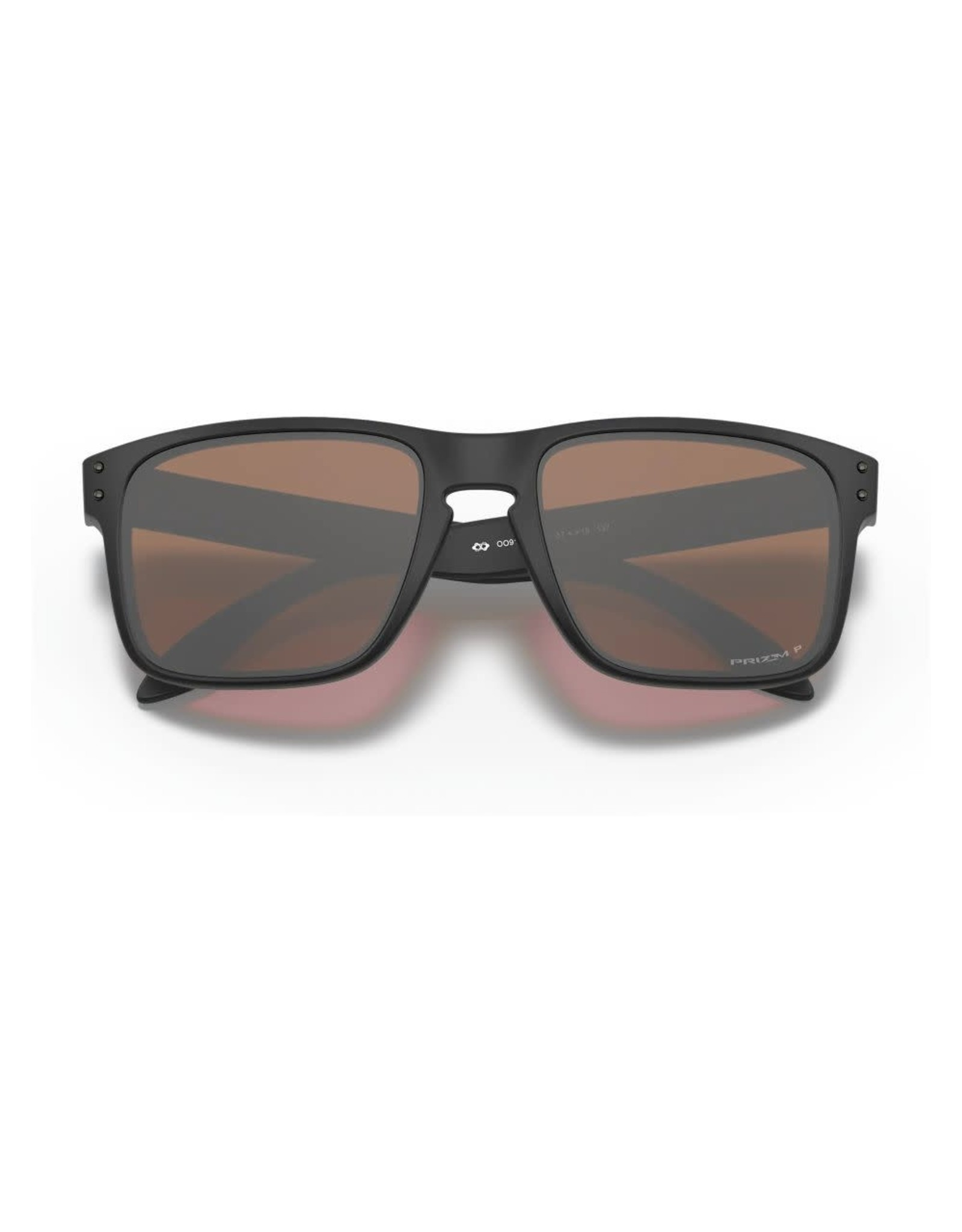 OAKLEY Oakley Holbrook matte black prizm tungsten iridium polarized sunglasses
