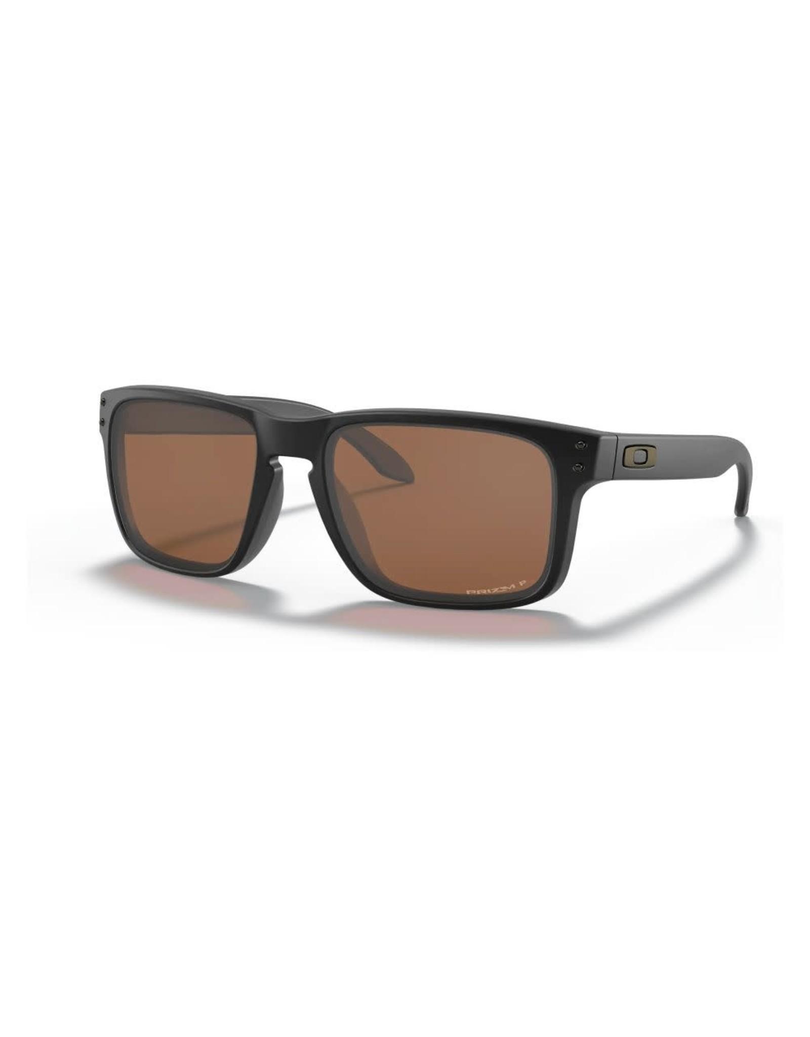 OAKLEY Oakley Holbrook lunette matte black prizm tungsten iridium polarisée