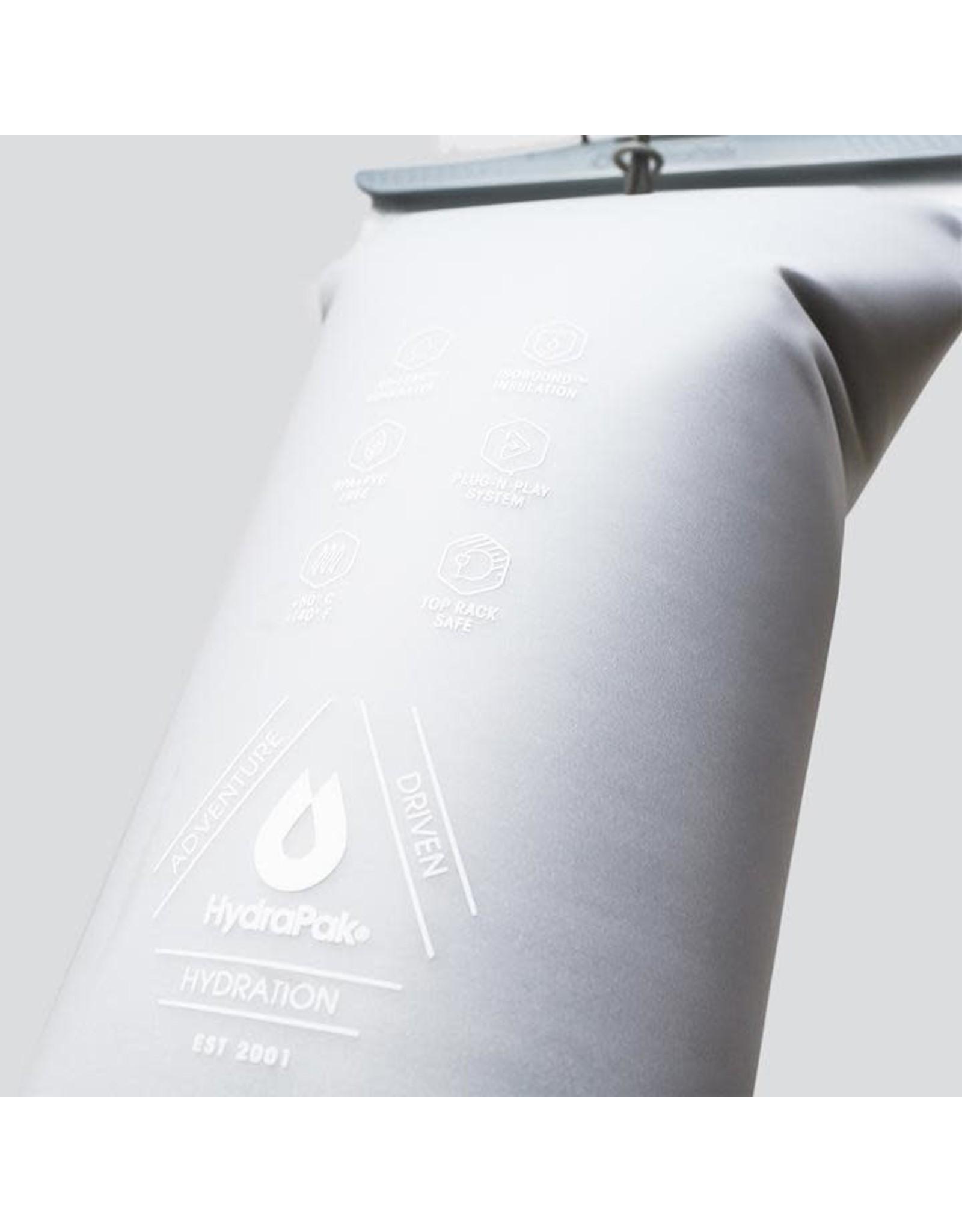 HydraPak HydraPak Velocity IT insulated hydration bag 1.5L-50oz Clear