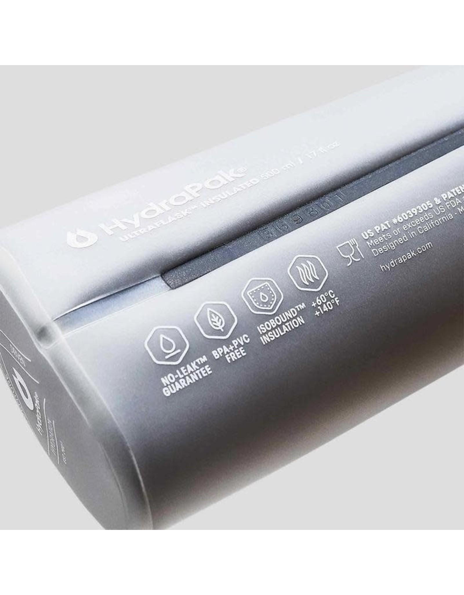 HydraPak HydraPak Ultraflask IT clear 500ml water bottle