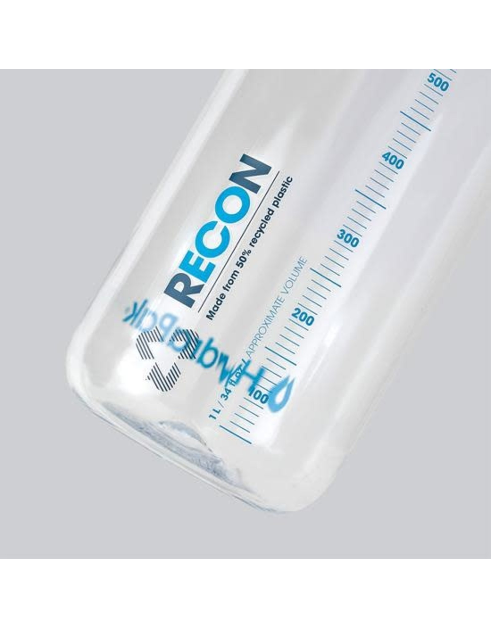 HydraPak HydraPak Recon clear water bottle 1L-32oz