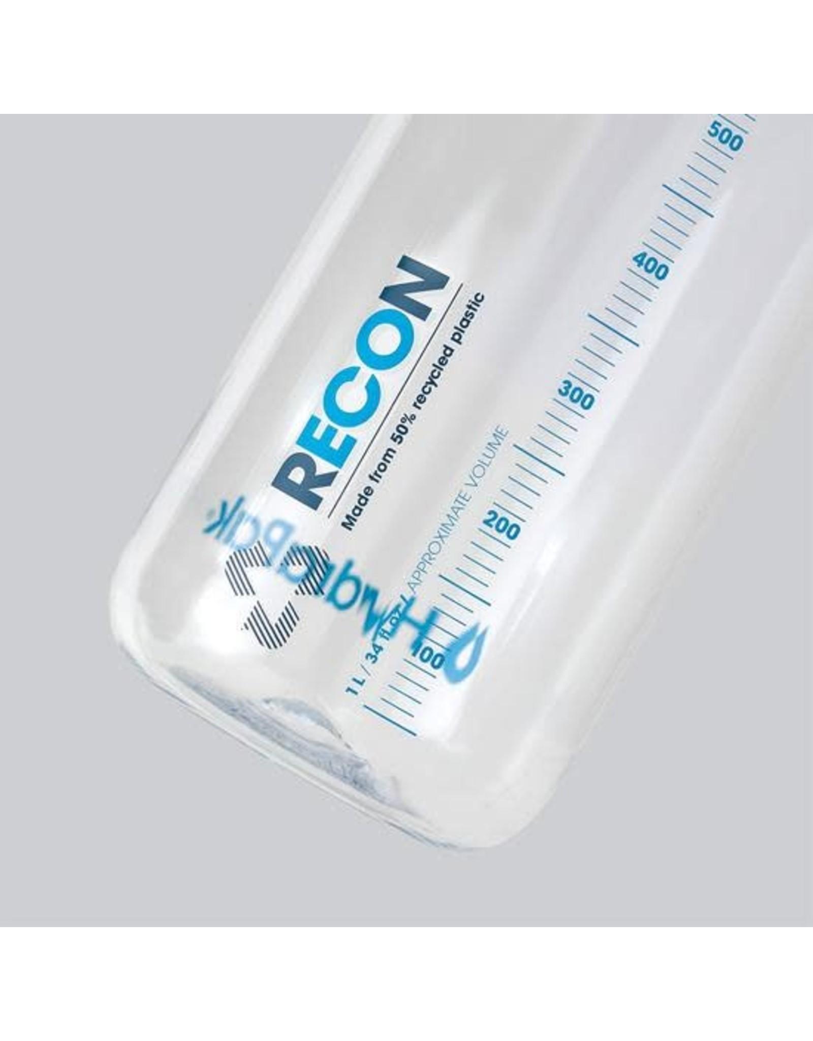 HydraPak HydraPak Recon clear water bottle 750ml