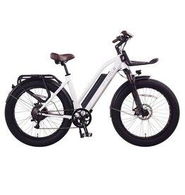 LEON CYCLE ET.Cycle T720 Fat Bike électrique White  46CM