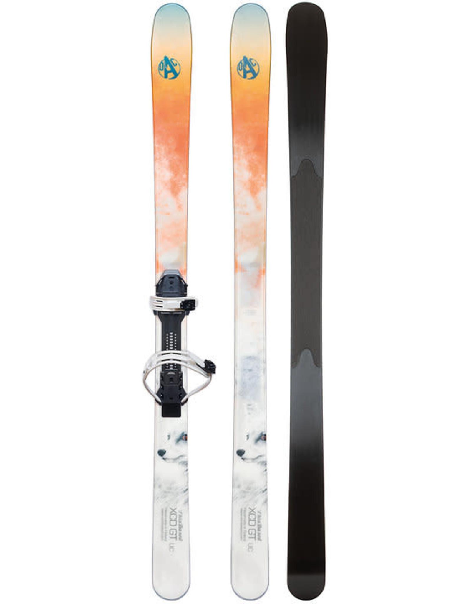 OAC SKINBASED OAC ski Hok XCD GT 160cm  with UC EA binding 22