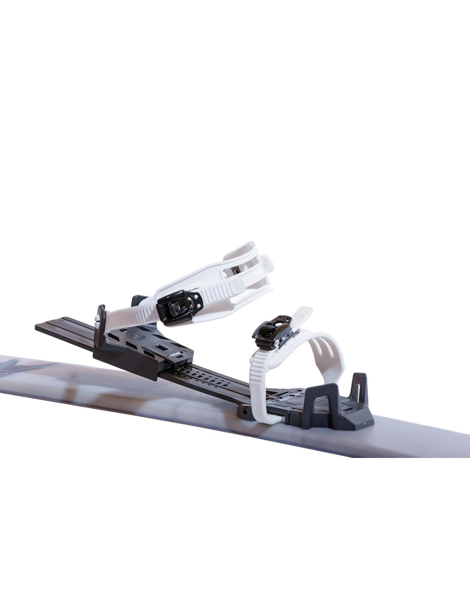 OAC SKINBASED AOC SKINBASED ski Hok KAR 147cm  UC with EA binding 22
