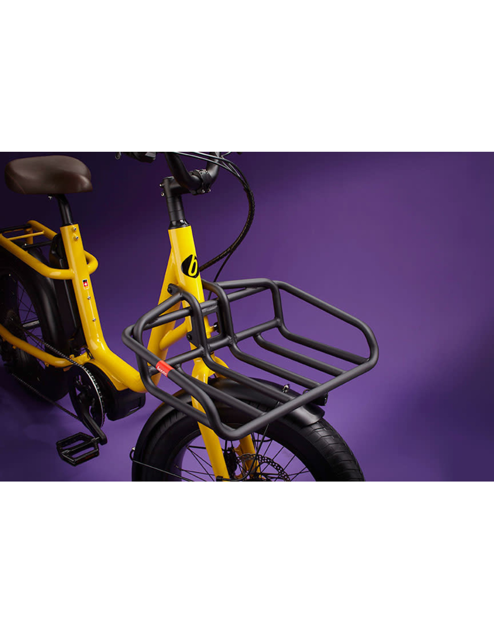 Benno Copy of Benno Remidemi Performance 65nm 400wh step through Compact electric cargo fat bike anthracite