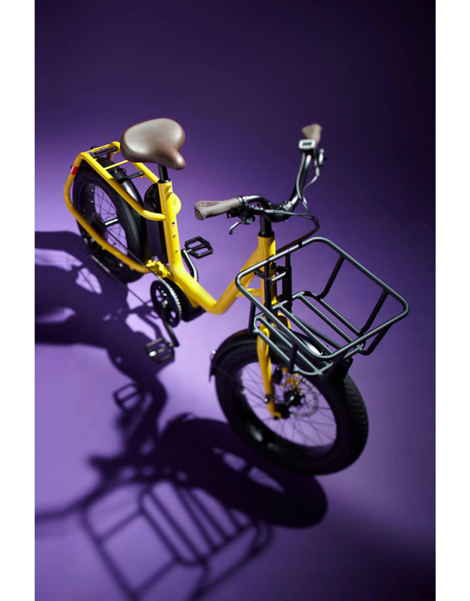 Benno Benno Remidemi Performance 65nm 400wh step through Mini cargo electric fat bike anthracite