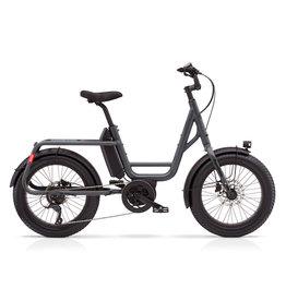 Benno Benno Remidemi step through compact cargo electric fat bike anthracite 21