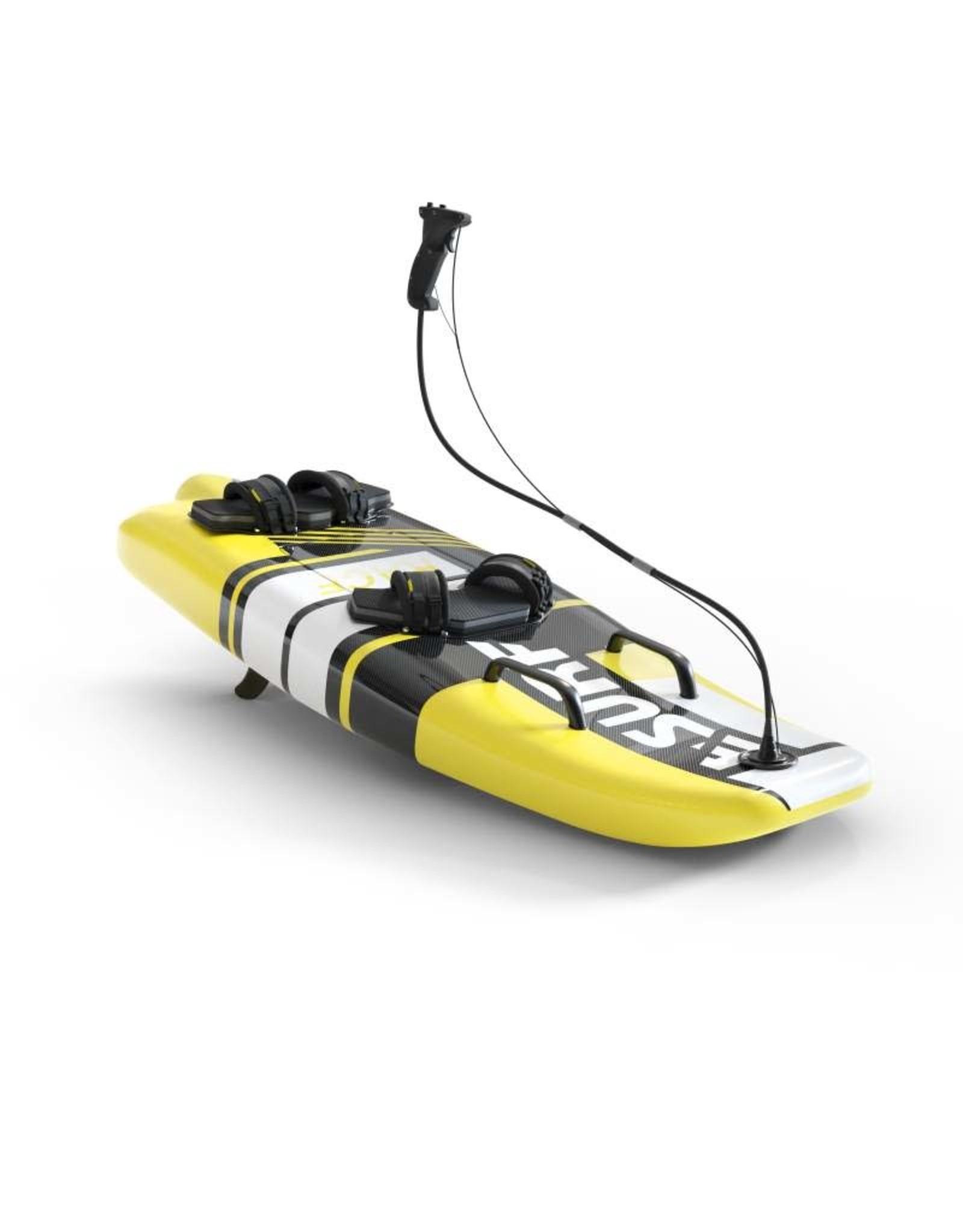 E-Surf E-surf Race electric surfboard yellow