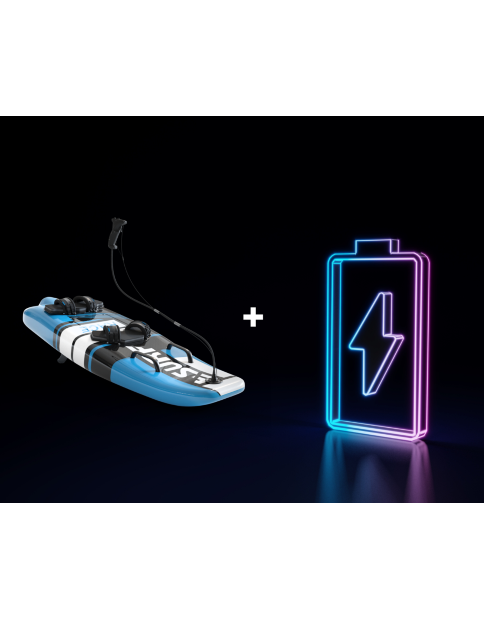 E-Surf Additional battery for E-surf race electric surfboard