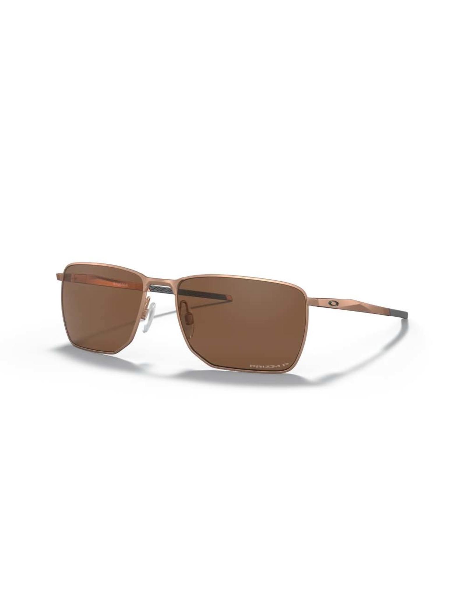 OAKLEY Oakley Ejector satin rose gold w prizm tungsten polarised sunglasses