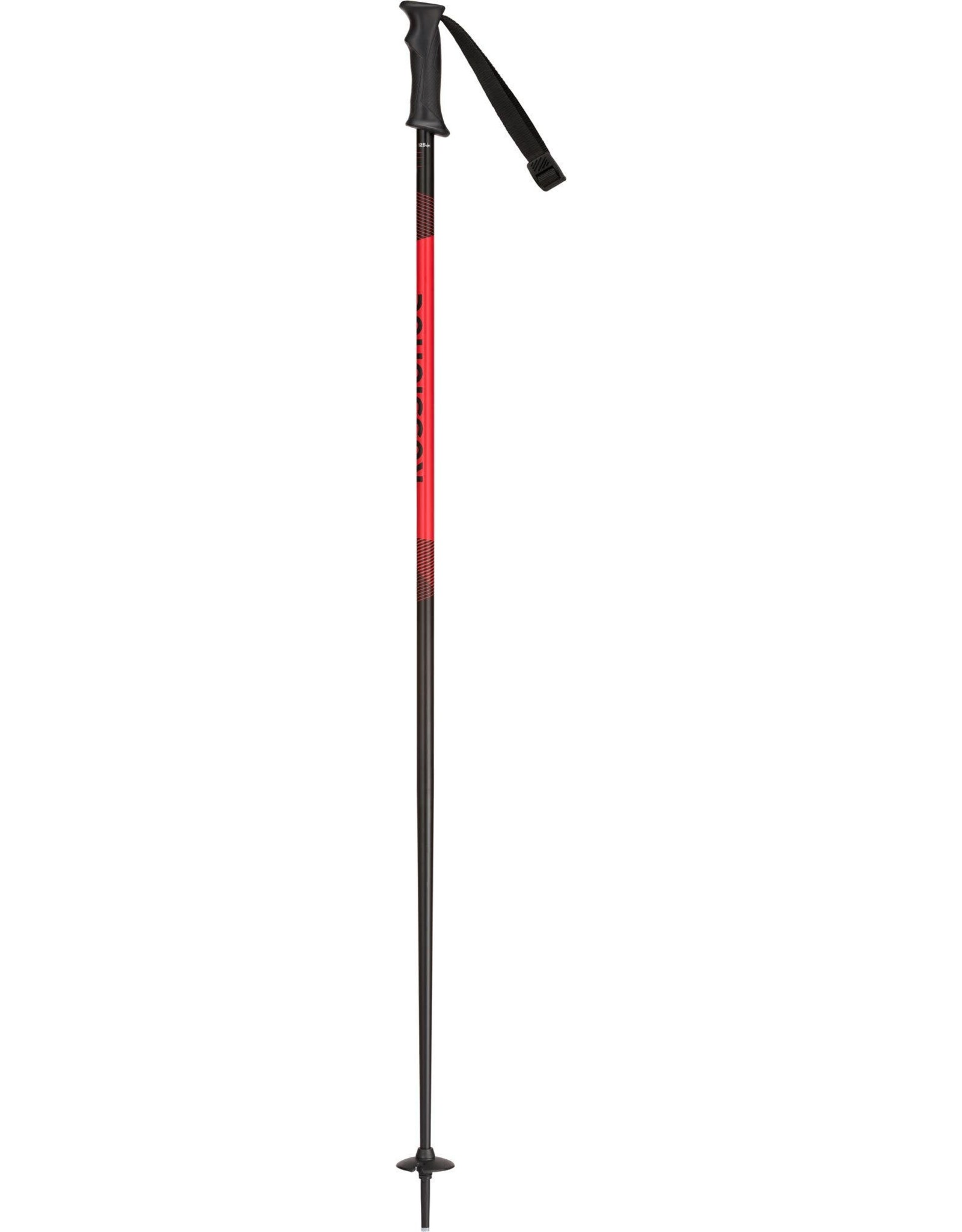 ROSSIGNOL Rossignol Tactic alpine ski pole JR blk-red 22