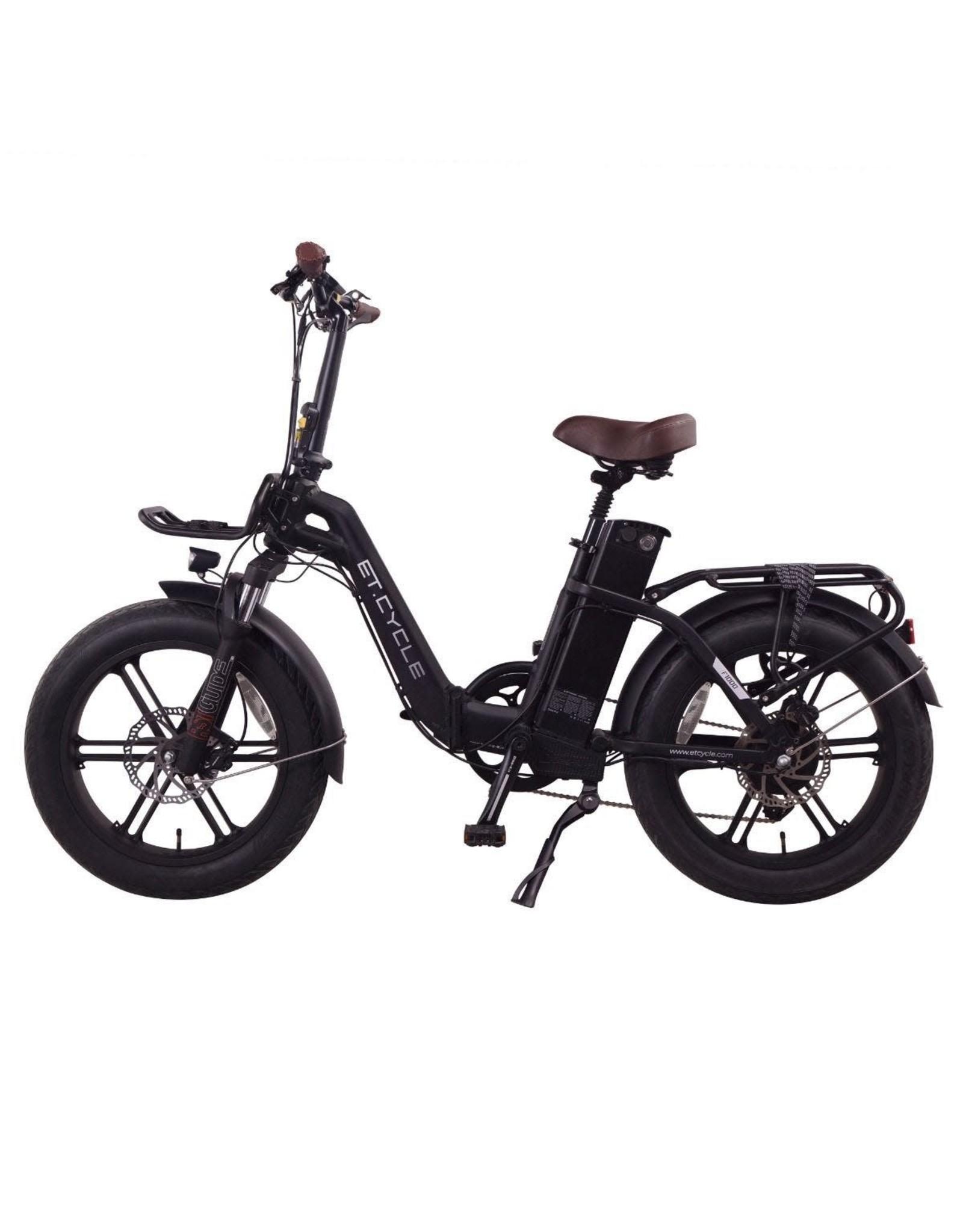 LEON CYCLE ET.Cycle F1000 Electric Fat Bike black 20''