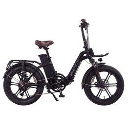 """LEON CYCLE ET.Cycle F720 Electric Fat Bike pliable noir 20"""""""