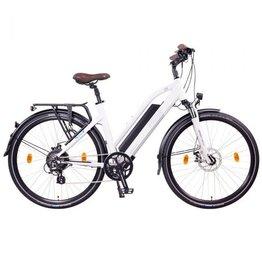 LEON CYCLE Leon Cycle NCM Milano white electric hybrid bike