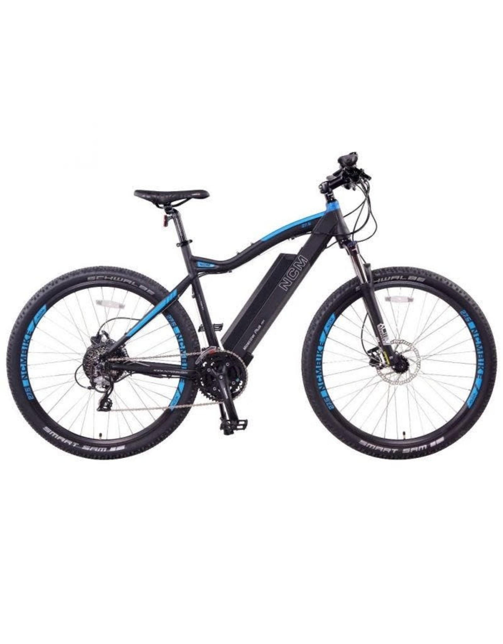 LEON CYCLE Leon Cycle NCM Moscow Plus vélo de montagne électrique noir