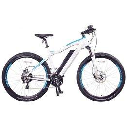 LEON CYCLE Leon Cycle NCM Moscow white electric mountain bike