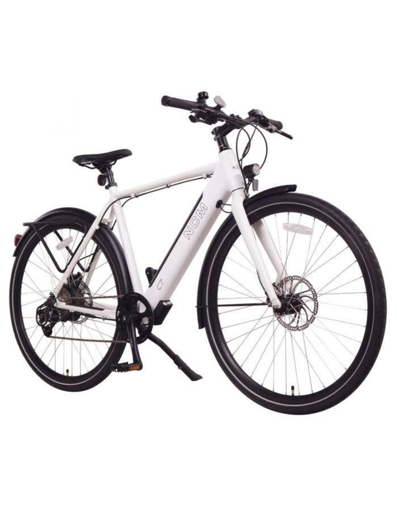 LEON CYCLE Leon Cycle NCM C7 white electric hybrid bike