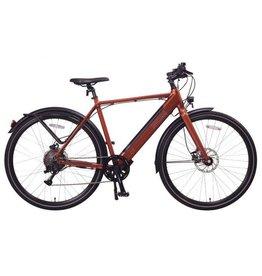 LEON CYCLE Leon Cycle NCM C7 vélo hybride électrique rouge brique
