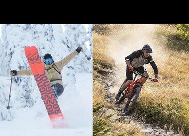 Ski & Bikes salesperson