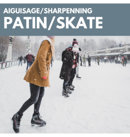 Skate sharpening service