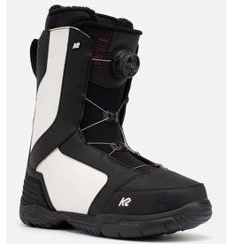 K2 K2 Rosko boa Men snowboard boots SR B&W 22