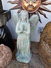 CARVED & CAST STONE FOUNTAINS STANDING ANGEL