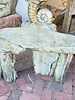 CARVED & CAST STONE BENCHES PENNSYLVANIA SLATE BENCH