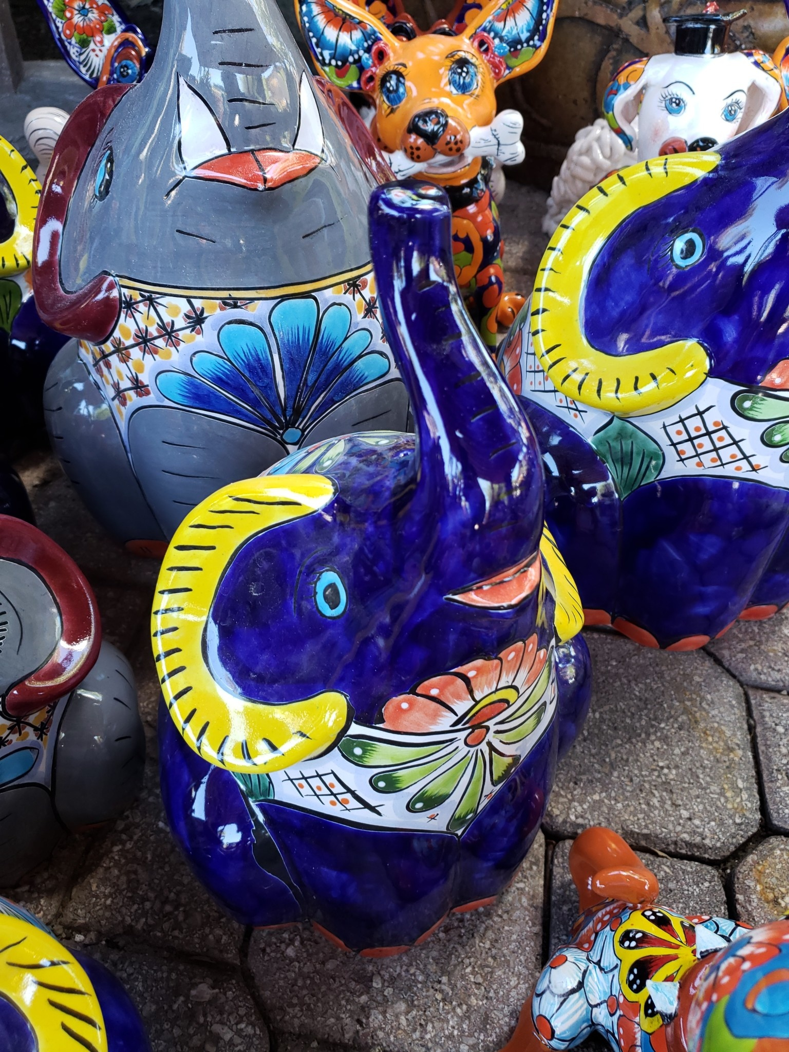 Elephant Trunk Up Md Pottery As Art