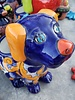 TALAVERA DOG PLANTER