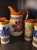 TALAVERA PITCHER W/6 CUPS