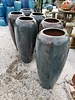 GLAZED CERAMIC FOUNTAINS LAVA BOSTON JAR
