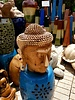 CARVED WOOD CARVED WOOD BUDDHA HEAD