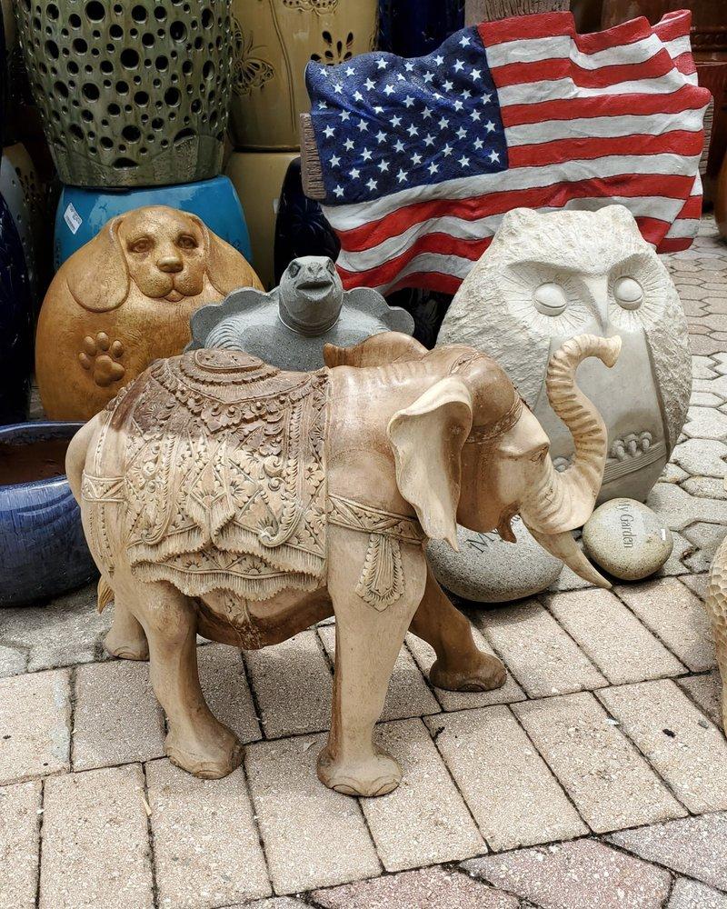 CARVED WOOD CARVED WOOD ELEPHANT