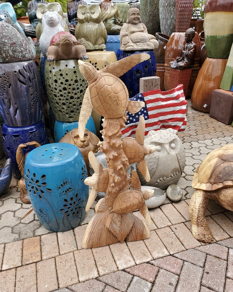 CARVED WOOD CARVED WOOD TURTLE FRIENDS