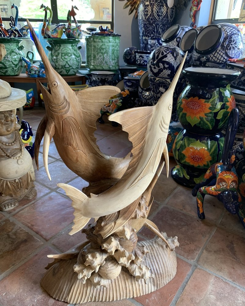 CARVED WOOD CARVED WOOD MARLIN