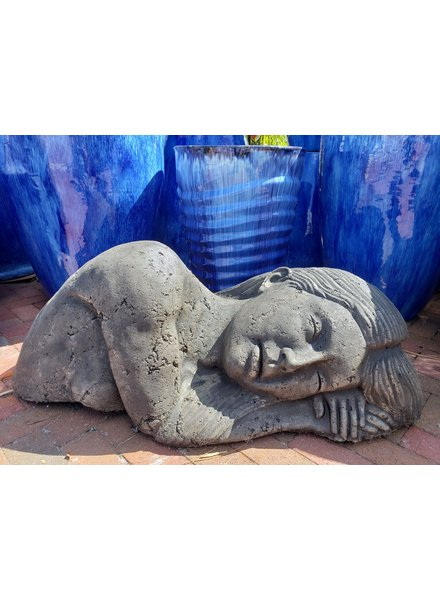 CAST STONE TERRA MATER/ EARTH GODDESS