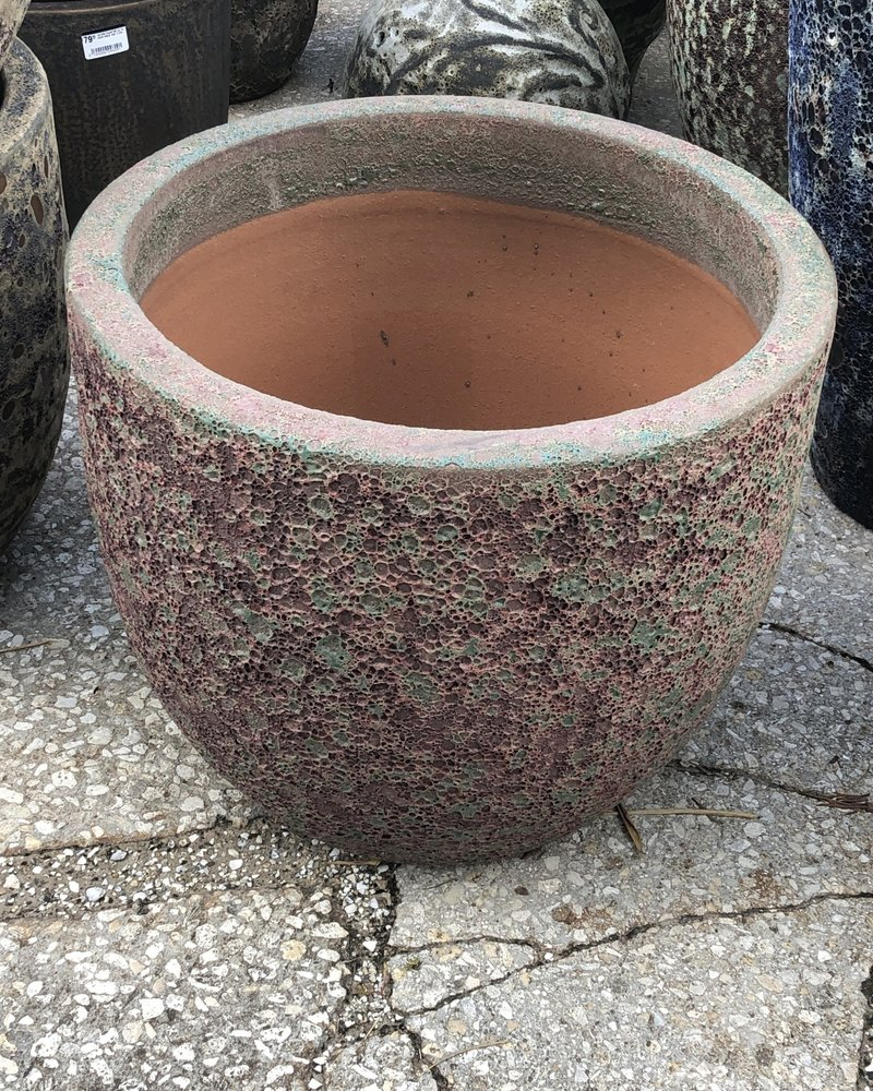 HIGH FIRED CERAMIC LB EGG PLANTER XL 18