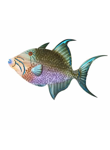 WALL ART TRIGGER FISH