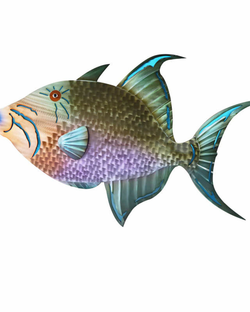 WALL ART TRIGGER FISH