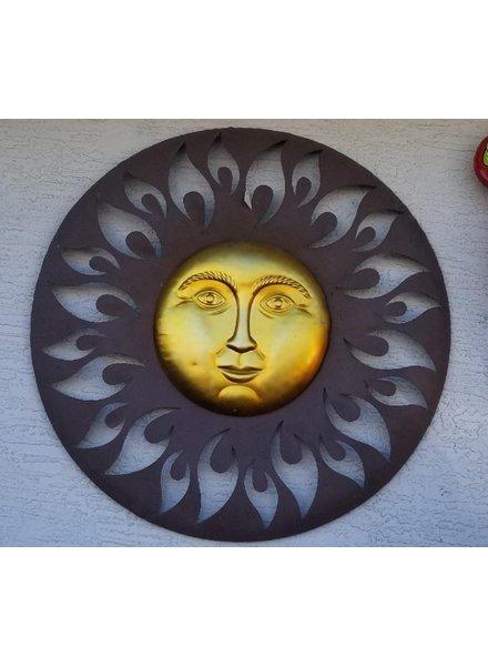 """WALL ART AURORA SUN 30"""""""