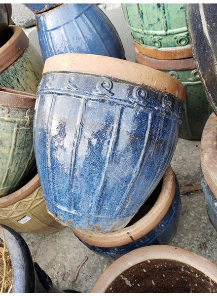 HIGH FIRED CERAMIC RUSTIC CORDOVA URN SM
