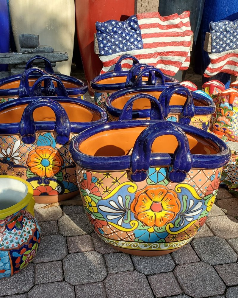 TALAVERA BAG PLANTER XL