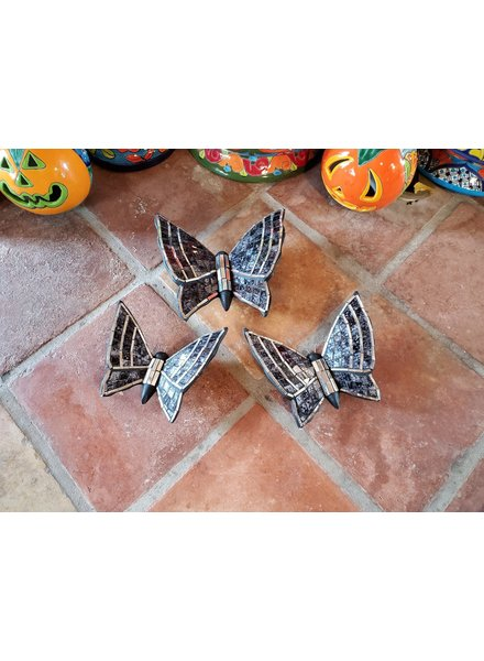 GARDEN ART & ACCESSORIES MOSAIC BUTTERFLY LG