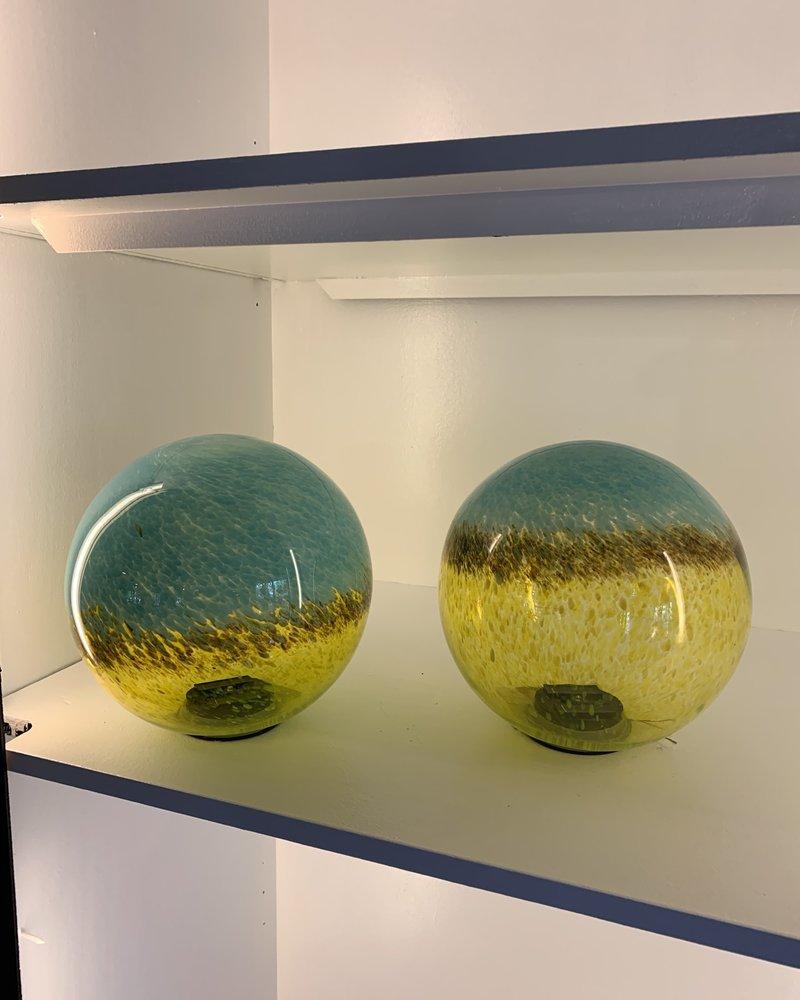 GARDEN ART & ACCESSORIES GLASS SOLAR BALL LG